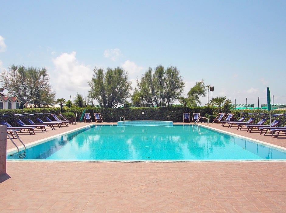 Swimming pool with sea water of Bagno Lido